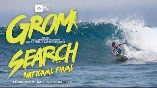 2014 Rip Curl Indonesia GromSearch Series - National Final - Lembongan Bali