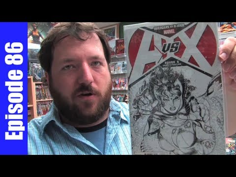 UNBOXING WEDNESDAYS - Episode 86 - AvX #6, Astonishing X-Men #51, Saga #4, Walking Dead #99, more!
