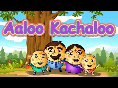 Aloo kachaloo kahan gaye they - Hindi Rhymes - Nursery rhymes from Jugnu Kids