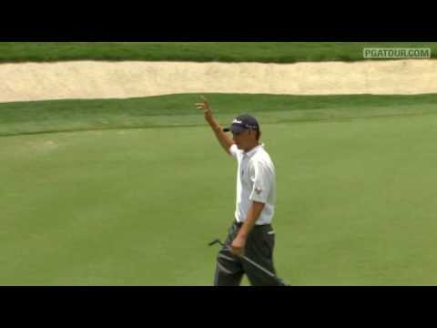Shot of the Day: Jordan Spieth drains birdie on the 12th at 2010 HP Byron Nelson Championship