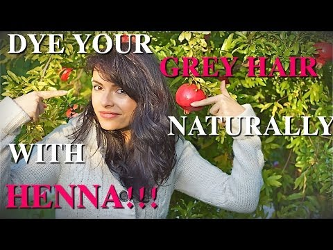 DIY HAIR DYE * Henna: How to Dye Your Grey Hair Naturally, Without Chemicals