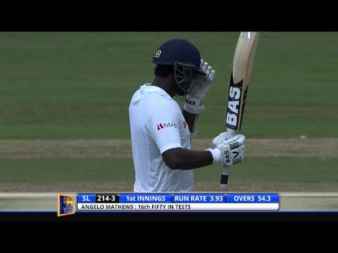 Sri Lanka v South Africa, 2nd Test - Day 1: Highlights