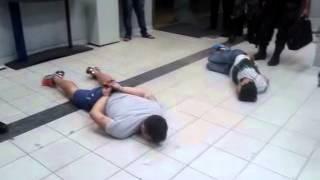 Três pessoas são presas enquanto arrombavam o Banco do Brasil em Carpina