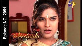 Manasu Mamata | 18th August 2017| Full Episode No 2051 | ETV Telugu