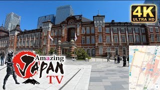 🔴Tokyo station walk【Introducing all of the station on the Yamanote Line】 [2/29] - 4K