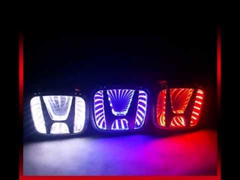Светящийся логотип на авто