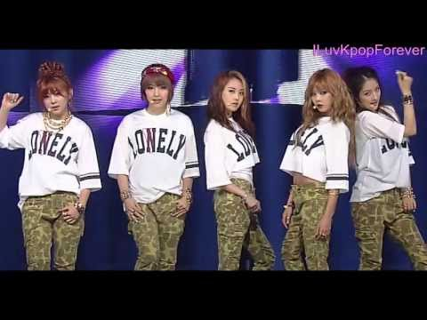 130428 4MINUTE - Whatever [1080p]