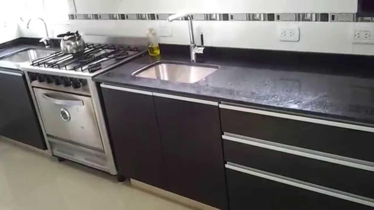 mueble de cocina fresno negro fabrica en villa devoto te