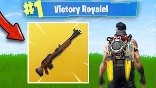 NEW UPDATE - NEW LEGENDARY SNIPER AND NEW MAP! (Fortnite Battle Royale Gameplay)
