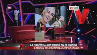 """Ana Torroja comentó la historia detrás de """"Mujer contra Mujer"""""""