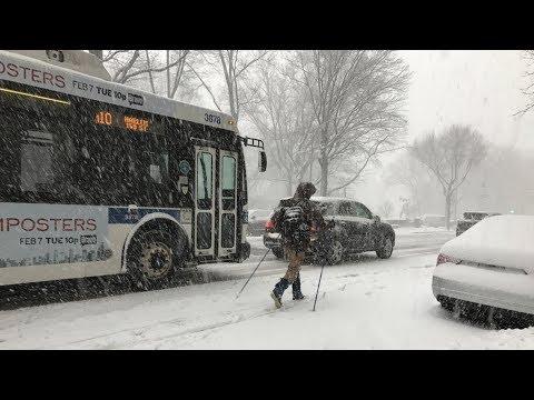 Америке кирдык - всё завалило снегом