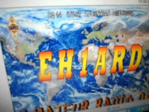 EH1ARD-SPECIAL CALL AMATEUR RADIO DAY 2012-IMAX 2000-20 METERS BAND-18-APRIL-2012-19.08UTC