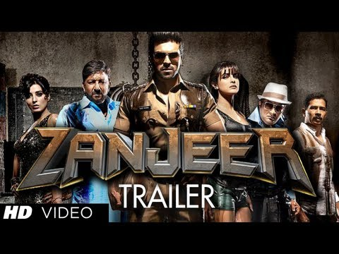 Zanjeer Trailer 2013 Hindi Movie | Ram Charan, Priyanka Chopra, Prakash Raj,sanjay Dutt video