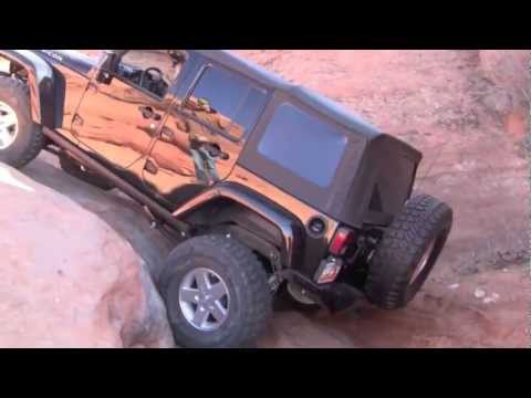 Jeep Wrangler JK  4x4 OffRoad, Winter on the Rocks the Maze Trail