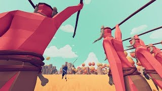 TABS - Spear Throwers vs All Other Units - Totally Accurate Battle Simulator