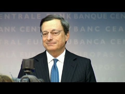 Draghi says ECB working on plans for bond purchases