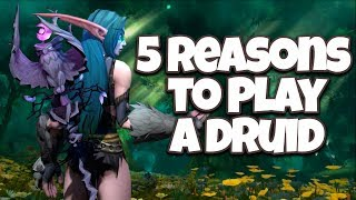 5 Reasons to Play a Druid in World of Warcraft!