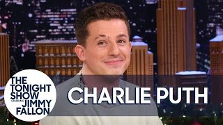 Charlie Puth Reviews His Junior High Christmas Albums and Tests His Perfect Pitch