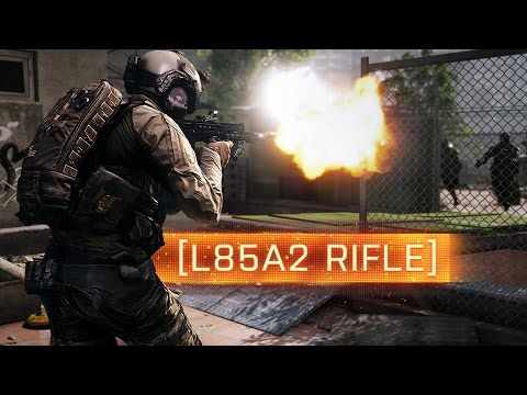 ► BF4 L85A2 ASSAULT RIFLE!   Battlefield 4 Weapon Review