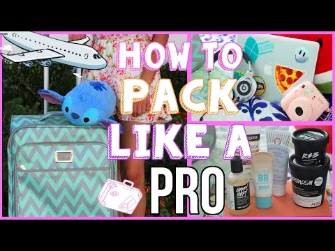 What to Pack on Vacation! How to Pack like a PRO!✈︎