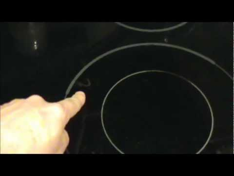How to clean or fix a glass stove top or range