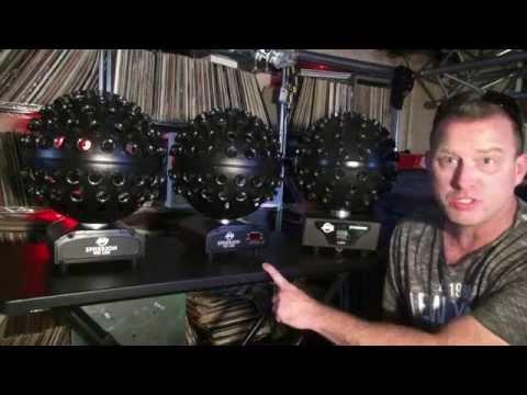 ADJ Starburst Vs Spherion WH & TRI LED