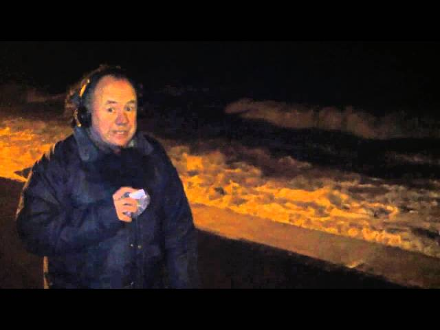 Youghal Storm Force Winds - Trevor Nangle reporting live - January 5th 2014