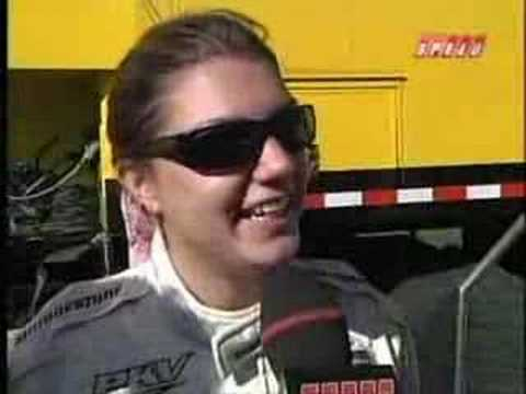 Katherine Legge Crash on Road America