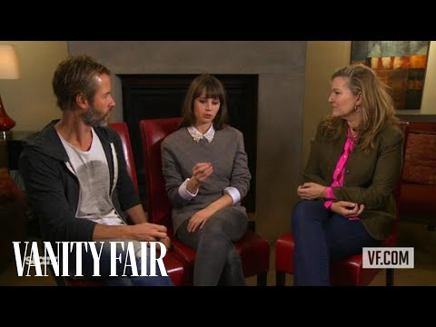 Guy Pearce and Felicity Jones on Breathe In