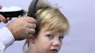 How to cut boys hair the new simple way. Using Freestyla clipper guides.
