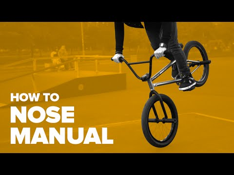 Как сделать ноуз мануал на BMX (How to Nose manual BMX)