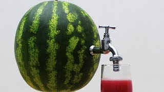 DIY Watermelon Juice