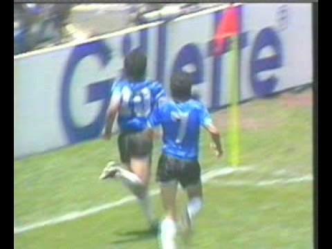 Diego  Maradona(マラドーナ) - 5人抜きドリブル