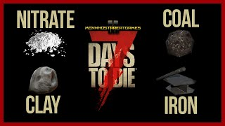 7 days to die xbox one how to get coal