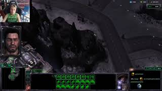 StarCraft 2: Misión Estallido en difícil. - Campaña de Wings of Liberty.