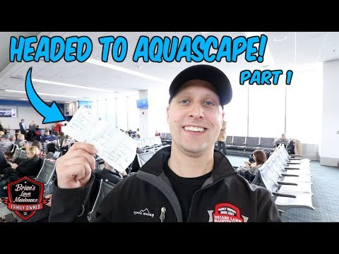 "Headed To Aquascape! | Flying To St. Charles IL To Meet Greg Wittstock ""The Pond Guy"""
