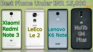 Xiaomi Redmi Note 3 VS Lenovo K6 Note VS LeEco Le 2 VS VS MoTo G4 Plus: Full In-Depth Comparison