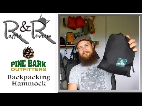 Backpacking hammock from Pine Bark Oufitters ~ gear Raffle and Review with the Hiking Viking