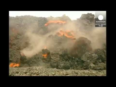 Cape Verde:  Volcano erupts on 'Fire Island'