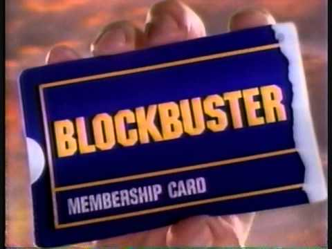Blockbuster commercial 1997