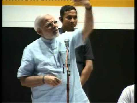 (Gujarati) Narendra Modi at the launch of Comic Traffic rule book at Vadodara