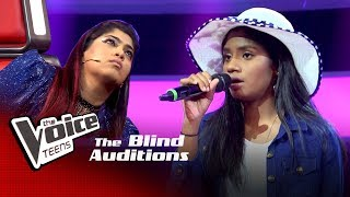 Subhanya Yashodara | Ran Gira Ma Blind Auditions | The Voice Teens Sri Lanka