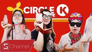 HÔM NAY ĂN GÌ - Đồ ăn ĐẮT NHẤT ở Circle K - Đi Circle K hết 500K: Snack, Mỳ 40K, nước khoáng 65K,...
