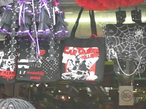 Camden market-goth store
