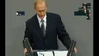 Putin spricht Deutsch / Putin speaks German 2/3