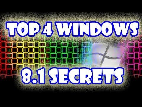 Top 4 Windows 8.1 Secrets [Tips and Tricks]