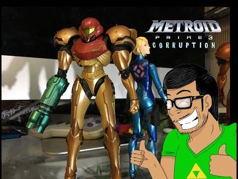 Metroid Prime 3 Corruption Figma (REVIEW!) Nitendo toys Figma Samus action figures