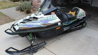 97 arctic cat powder special EFI 580