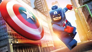 LEGO CAPTAIN AMERICA VS OCTOPUS ! Spiderman Lego Superheroes Videos for Kids Games