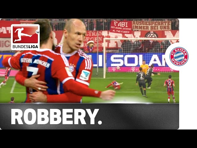 The Perfect Robbery – Arjen Robben's Milestone Goal after Double Header